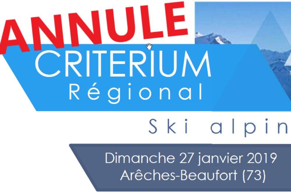 Critérium Régional UFOLEP 2019 /!\ ANNULE /!\