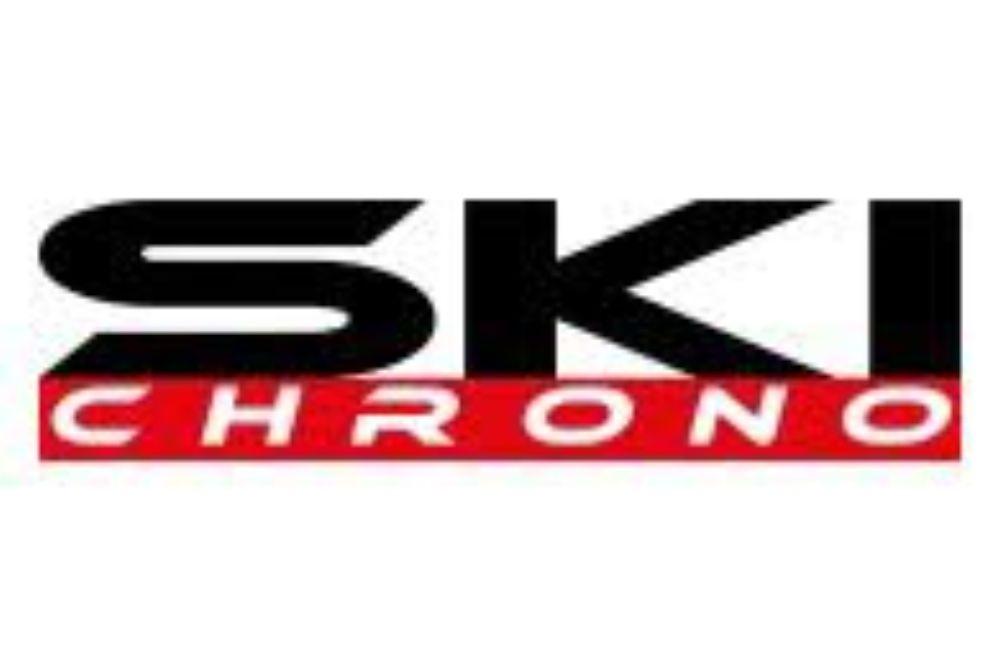 Nos compétiteurs dans le fils de ski chrono
